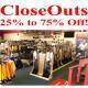 CloseOuts