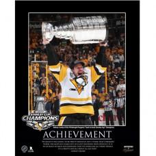 Sidney Crosby Penguins Large Motivator 2017 Stanley Cup Plack
