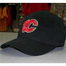 Calgary Flames Fitted Cap – Black
